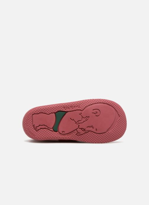Bottines et boots Kickers Bonbon Rose vue haut