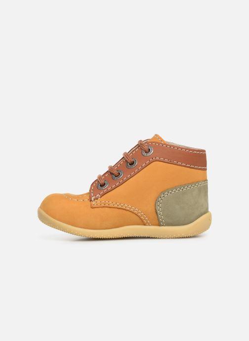 Boots en enkellaarsjes Kickers Bonbon Geel voorkant