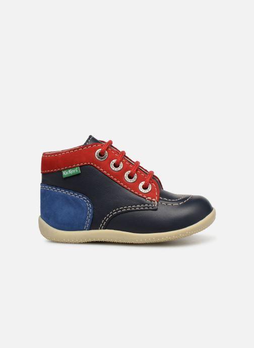 Boots en enkellaarsjes Kickers Bonbon Blauw achterkant