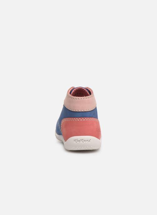 Bottines et boots Kickers Bonbon Bleu vue droite