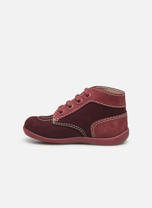 Boots en enkellaarsjes Kickers Bonbon Paars voorkant
