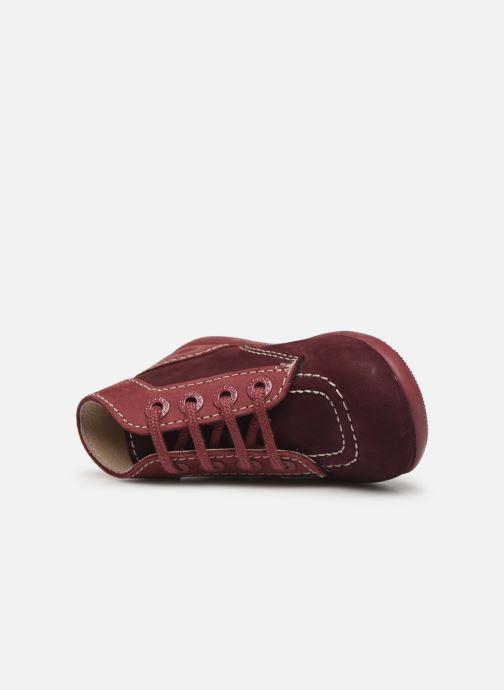 Boots en enkellaarsjes Kickers Bonbon Paars links