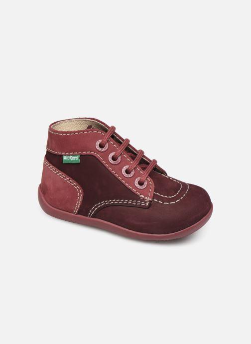 Bottines et boots Kickers Bonbon Violet vue détail/paire