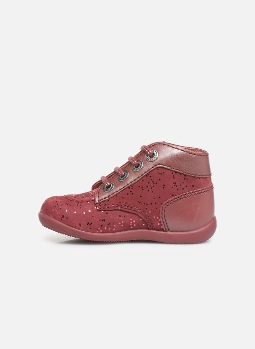 Bottines et boots Kickers Bonbon Rose vue face