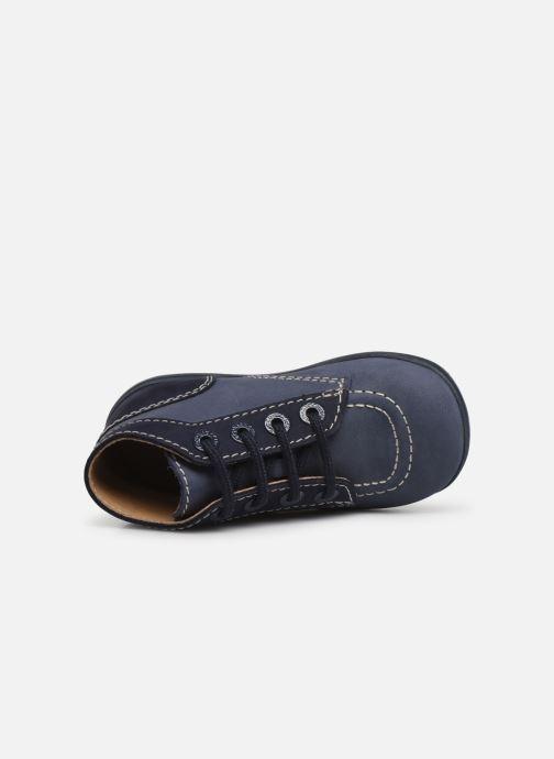 Boots en enkellaarsjes Kickers Bonbon Blauw links