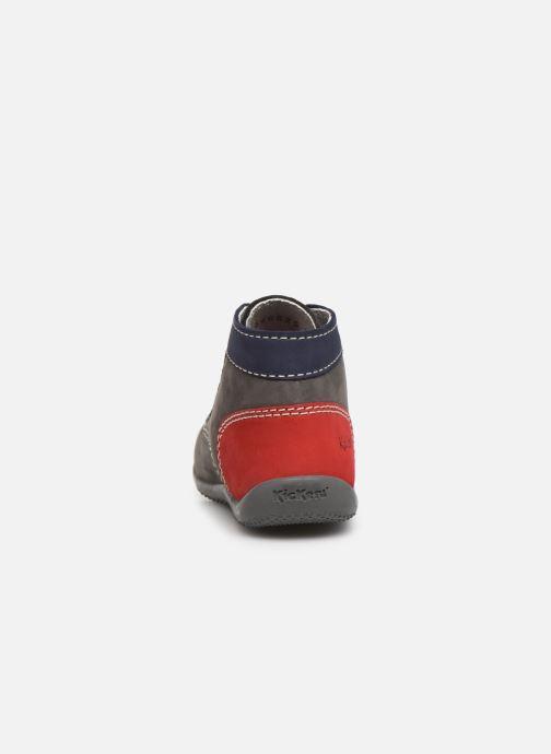 Bottines et boots Kickers Bonbon Gris vue droite
