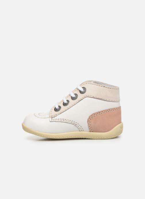 Bottines et boots Kickers Bonbon Blanc vue face