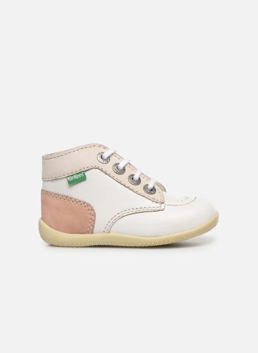 Bottines et boots Kickers Bonbon Blanc vue derrière