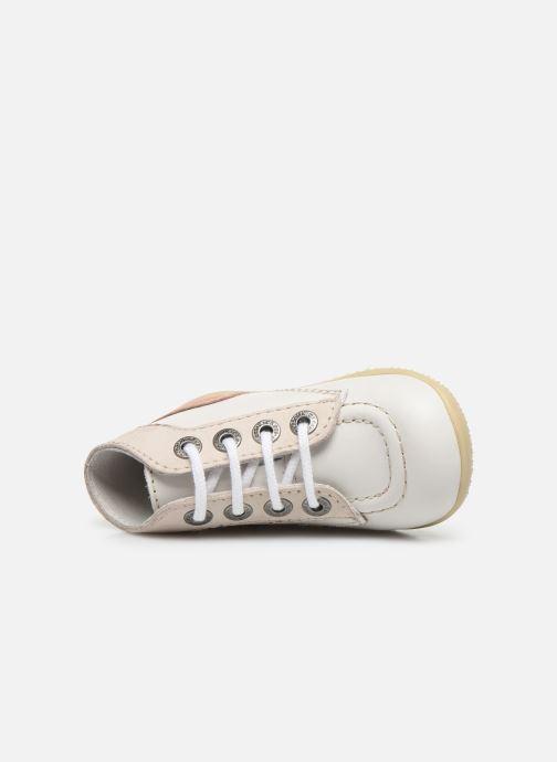 Bottines et boots Kickers Bonbon Blanc vue gauche