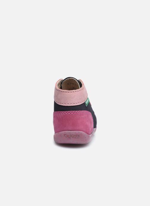 Stiefeletten & Boots Kickers Bonbon mehrfarbig ansicht von rechts