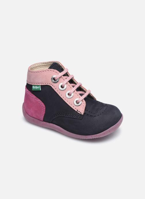 Bottines et boots Kickers Bonbon Multicolore vue détail/paire