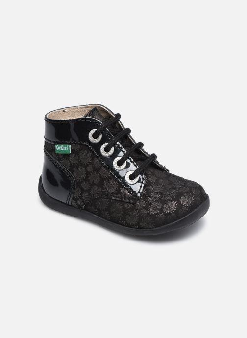 Bottines et boots Kickers Bonbon Noir vue détail/paire