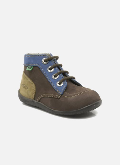 Ankelstøvler Kickers Bonbon Brun detaljeret billede af skoene