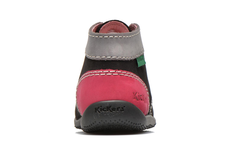 Bottines et boots Kickers Bonbon Noir vue droite