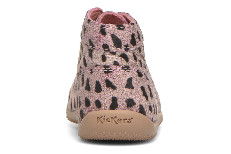 Boots Kickers Bonbon Rosa Bild från höger sidan