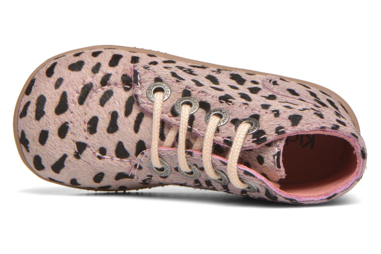 Boots Kickers Bonbon Rosa bild från vänster sidan