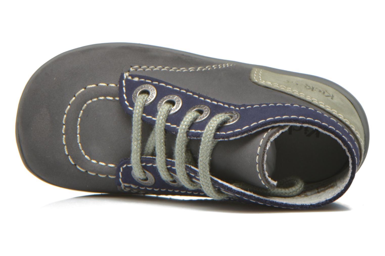 Stiefeletten & Boots Kickers Bonbon grau ansicht von links