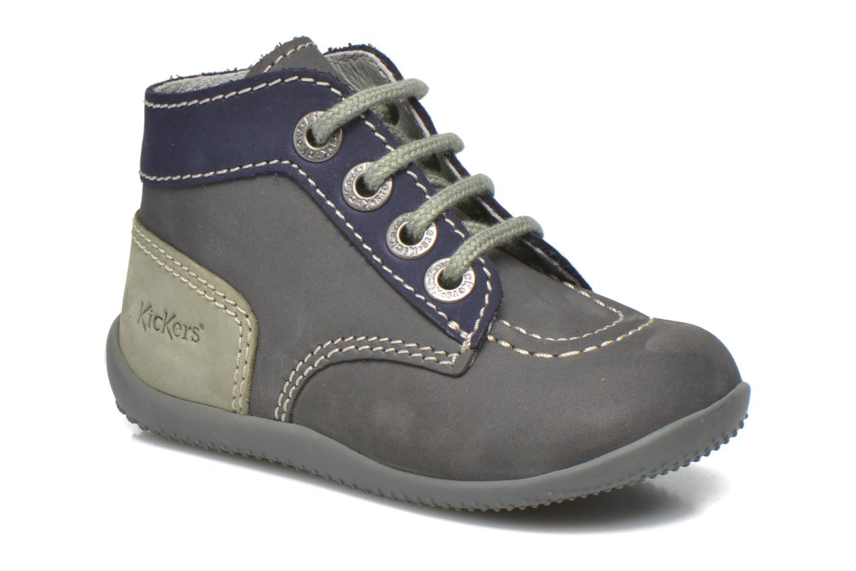 Stiefeletten & Boots Kickers Bonbon grau detaillierte ansicht/modell