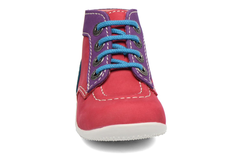 Ankelstøvler Kickers Bonbon Pink se skoene på