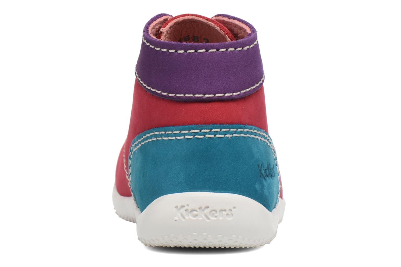 Ankelstøvler Kickers Bonbon Pink Se fra højre