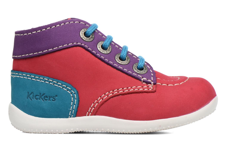 Ankelstøvler Kickers Bonbon Pink se bagfra