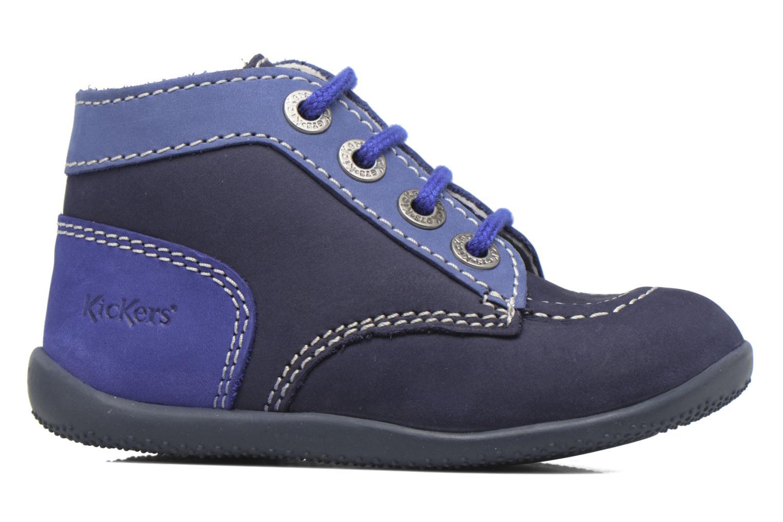Stivaletti e tronchetti Kickers Bonbon Azzurro immagine posteriore
