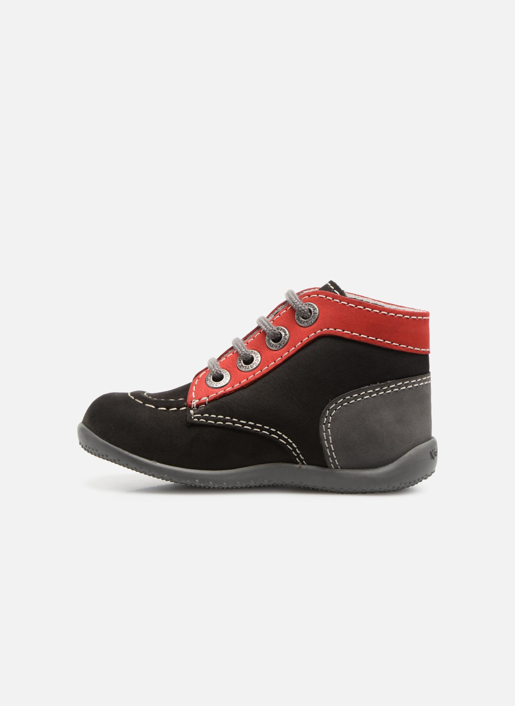 Boots en enkellaarsjes Kickers Bonbon Zwart voorkant