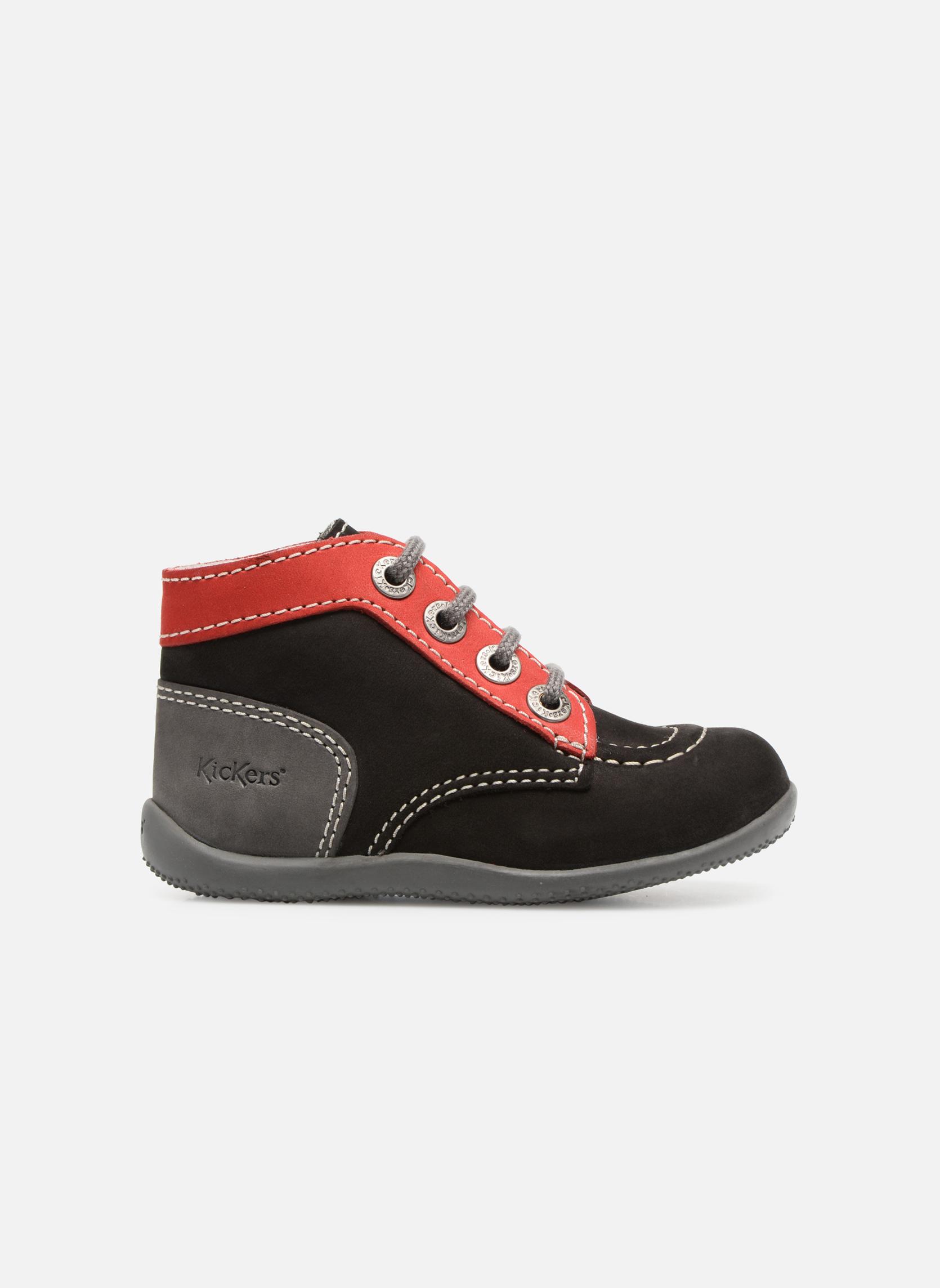Boots en enkellaarsjes Kickers Bonbon Zwart achterkant