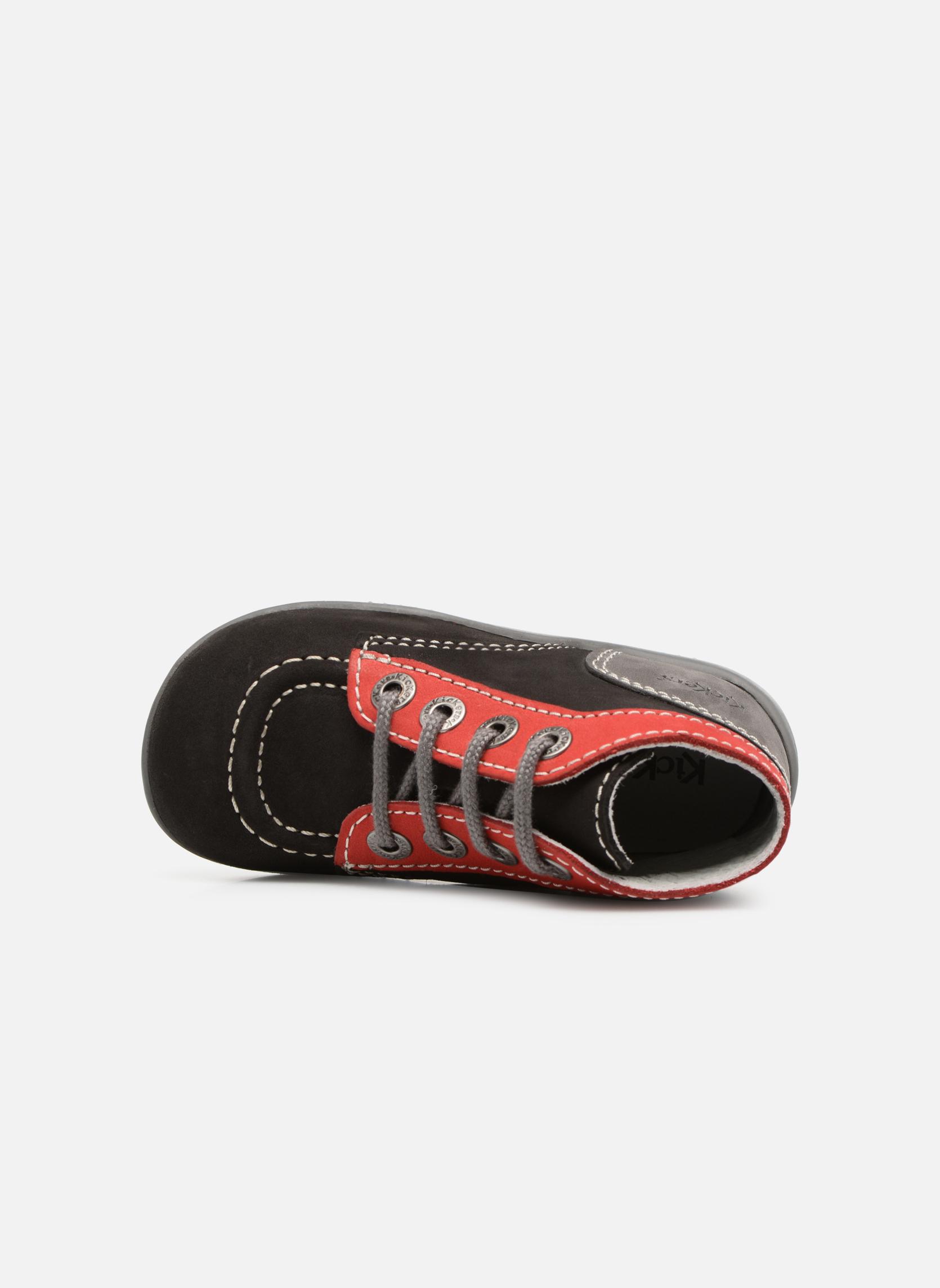 Boots en enkellaarsjes Kickers Bonbon Zwart links
