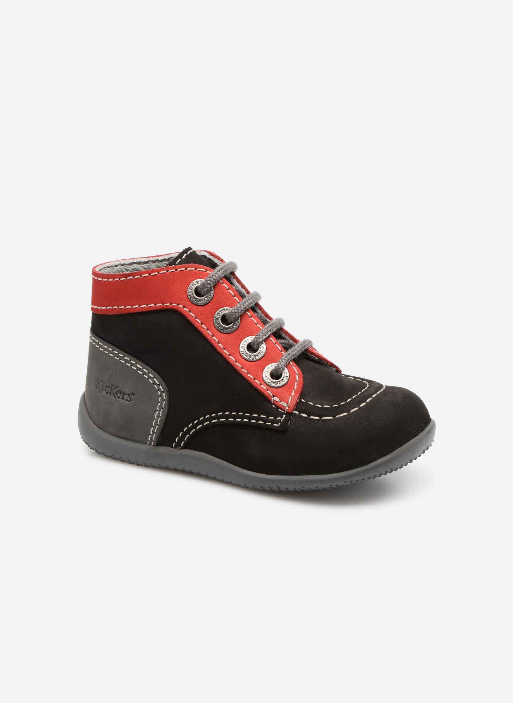 Boots en enkellaarsjes Kickers Bonbon Zwart detail
