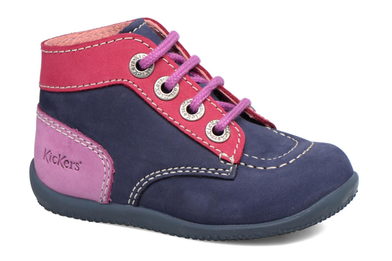 ed4367d93d8 Kickers Bonbon (Blauw) - Boots en enkellaarsjes chez Sarenza (309285)