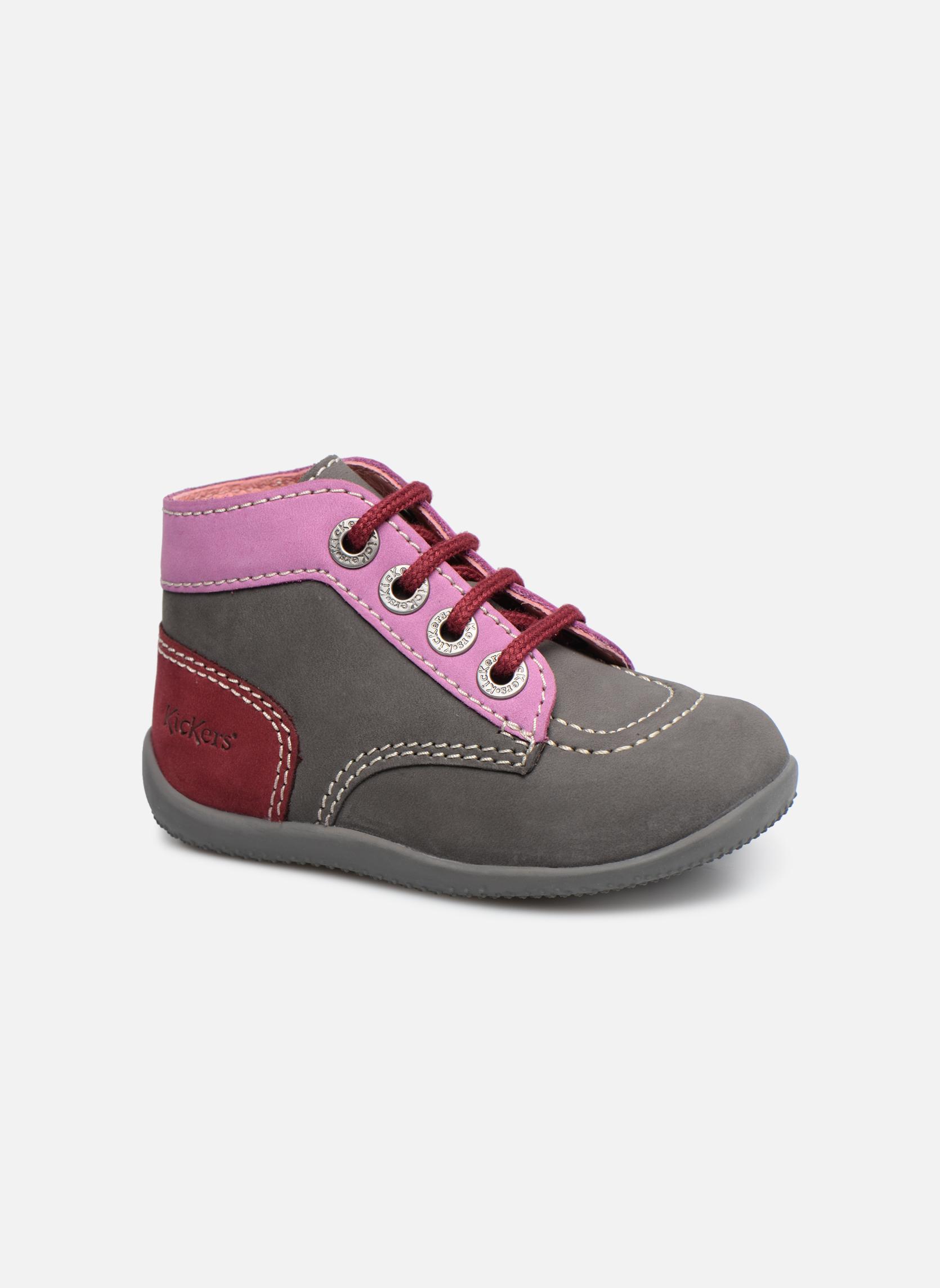 Boots en enkellaarsjes Kickers Bonbon Grijs detail