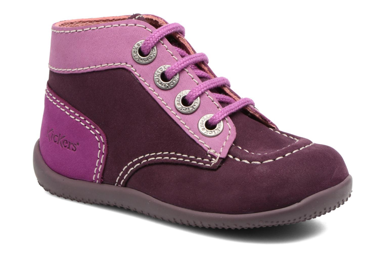 Ankelstøvler Kickers Bonbon Lilla detaljeret billede af skoene