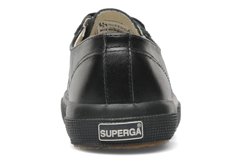 Baskets Superga 2750 FGLU Noir vue droite