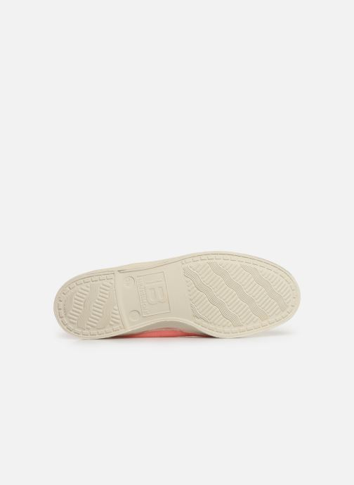Trainers Bensimon Tennis Elastique F Pink view from above