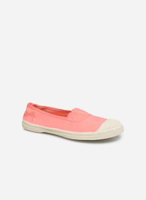 Trainers Bensimon Tennis Elastique F Pink detailed view/ Pair view