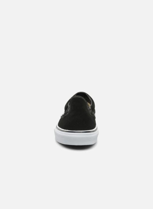 Deportivas Vans Classic Slip-on Negro vista del modelo