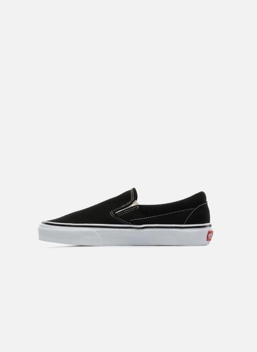 Sneakers Vans Classic Slip-on Nero immagine frontale