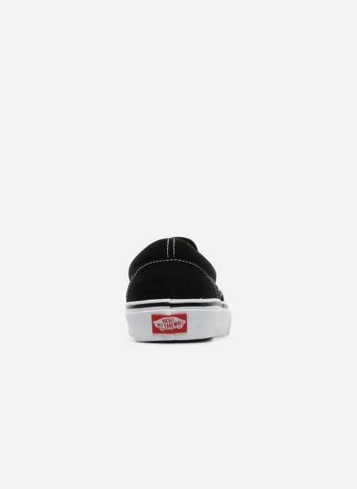 Sneakers Vans Classic Slip-on Zwart rechts
