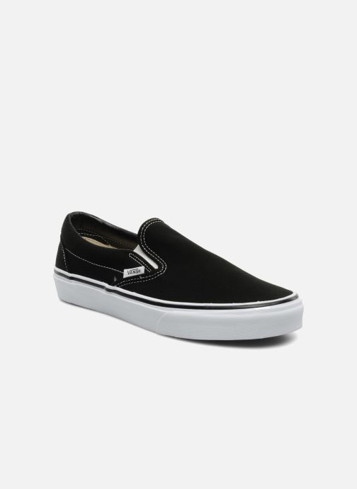 Sneakers Vans Classic Slip-on Zwart detail