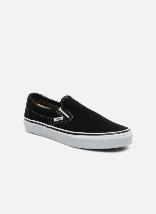 Sneakers Vans Classic Slip-on Zwart detail