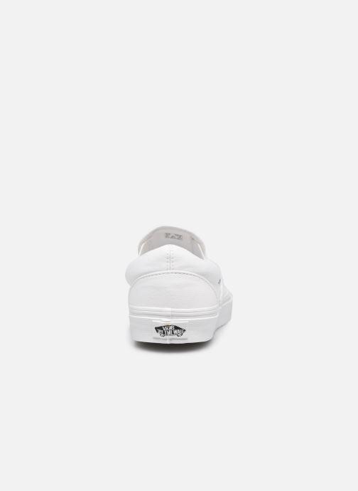 Baskets Vans Classic Slip-on Blanc vue droite