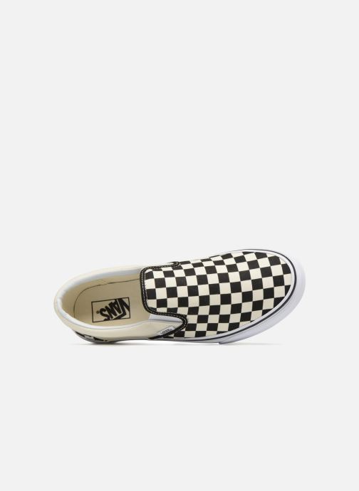 oncheckerboard Slip black Classic Vans white oexWrdCB