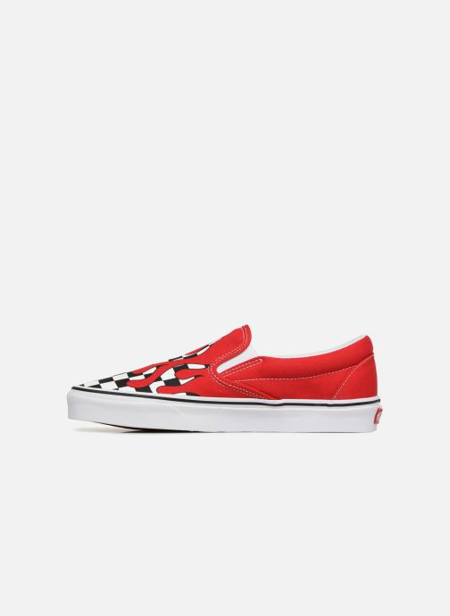 Sneaker Vans Classic Slip-on rot ansicht von vorne