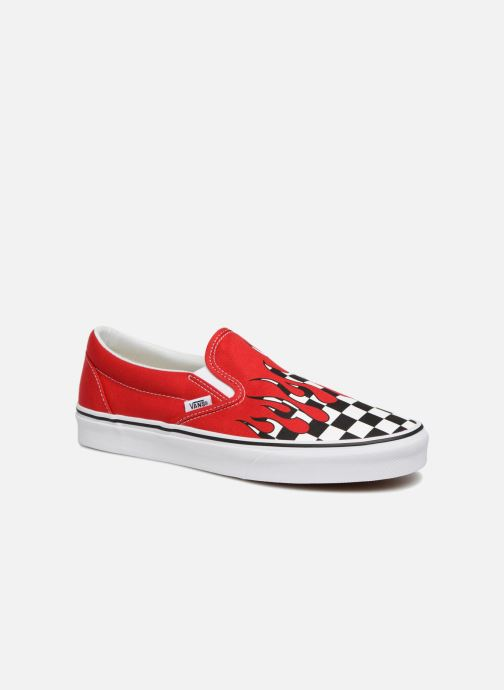 Vans Classic Slip-on Trainers in Red at Sarenza.eu (332969)