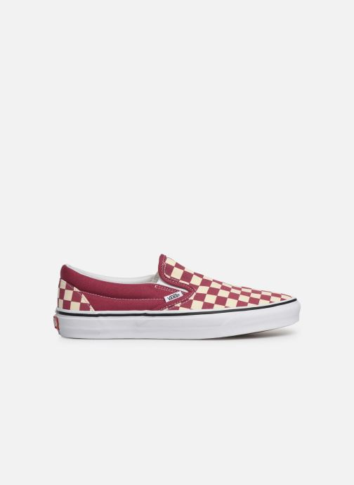 Trainers Vans Classic Slip-on Red back view