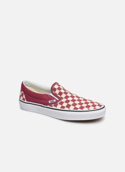 Trainers Vans Classic Slip-on Red detailed view/ Pair view
