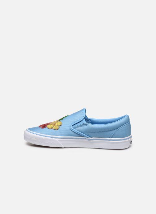 Sneaker Vans Classic Slip-on blau ansicht von vorne