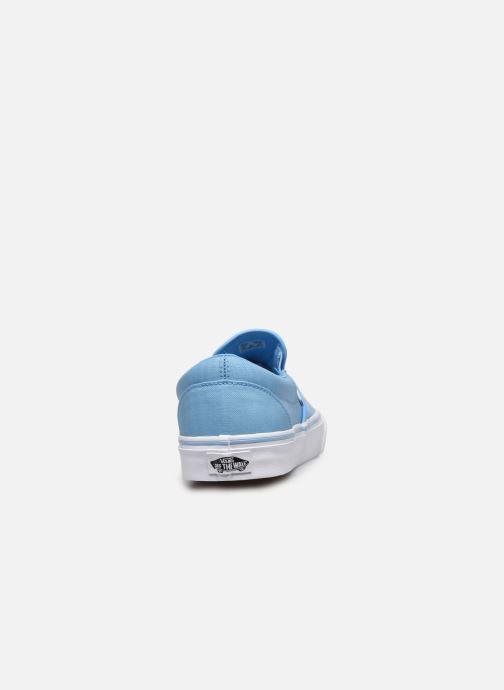 Baskets Vans Classic Slip-on Bleu vue droite