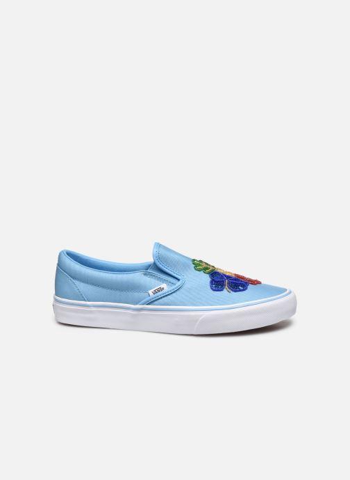 Sneakers Vans Classic Slip-on Azzurro immagine posteriore